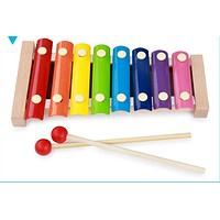 Let's make Baby Toys Wooden Octave Piano Learning Education Montessori Toys Baby Birthday Present Baby Gifts Wooden Toys Blocks