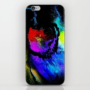 Violas Woo Wee colection iPhone & iPod Skin by violajohnsonriley