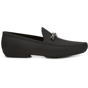 Barbed Wire Loafers in Black