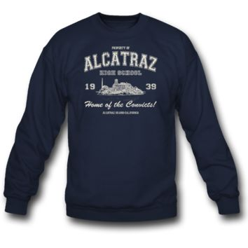alcatraz high school sweatshirt