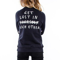 Glamour Kills - Get Lost Crew Fleece