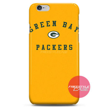 Green Bay Packers The Green and Gold iPhone Case 3, 4, 5, 6 Cover