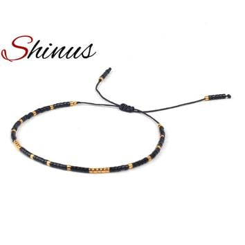 Shinus Strand Bracelet Bracelets Women Jewelry Fashion Miyuki Delica Seed Beads Handmade Friendship Jewellery Womens Gifts 2018
