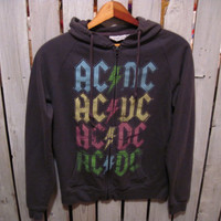 AC/DC Hoody, Size Small