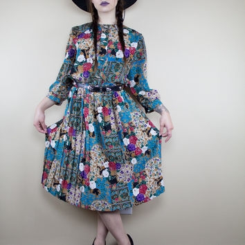 Art Gallery Vintage Dress
