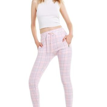 Pastel Plaid Demi Legging | Multi