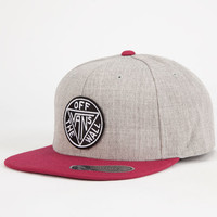 Vans Stanwood Mens Snapback Hat Gray One Size For Men 25433511501