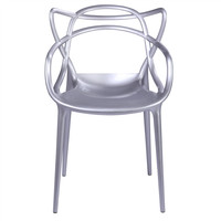 Masters Style Chair Silver