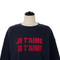 Buy UPTOWNHOLIC Lettering Cotton Pullover | YesStyle