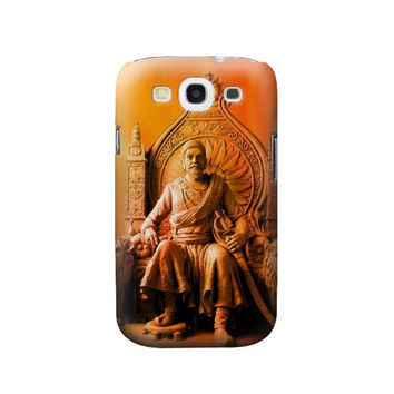 P1104 Shivaji Maharaj Comes Marathas Case Cover For Samsung Galaxy S3