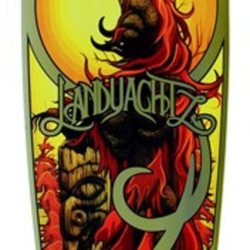 Landyachtz Bamboo Totem Complete Longboard 9.9x41/27.75wb