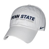 Mobile | Penn State Hats: NIKE DRI-FIT HERITAGE HAT from Lions Pride - WHITE