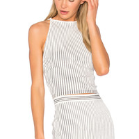 EGREY Striped Cami in Off White & Navy | REVOLVE