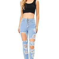 Breakdown High Waist Skinnys