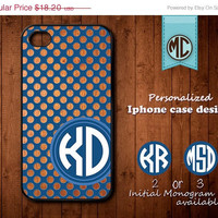 20% OFF SALE Personalized iPhone 4 Case - Plastic iPhone case - Rubber iPhone case - Monogram iPhone case - iPhone 4s case - K092