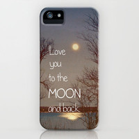 To the Moon and Back iPhone & iPod Case | Print Shop