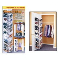 Shoes Away Shoes Away Hanging Shoe Organizer