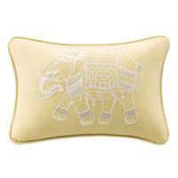 Ink + Ivy Zahira Embroidered Oblong Throw Pillow