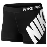 "Nike Pro 3"" Compression Shorts - Women's"