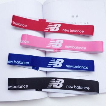 DCCK1IN new balance sports casual letter simple hair band of yoga and fitness headband headband with headbands