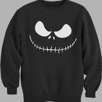 Jack Skellington Face Sweater for Mens Sweater and Womens Sweater ***