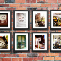 Fried Green Tomatoes Set of 8 Photographs, Eight Whistlestop Cafe Film Prints, Collection of 8