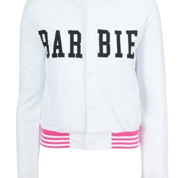 Mighty Fine I'm a Doll Barbie Varsity Jacket