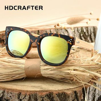HDCRAFTER Wood Sunglasses Bamboo