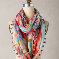 Augusta Infinity Scarf by Anthropologie in Orange Size: One Size Scarves