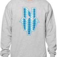 Casual Industrees N Dub Tribal Crew Neck Sweatshirt