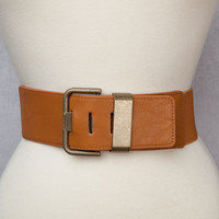 Thick Brown Belt