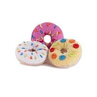 Donut Knitted Baby Rattles