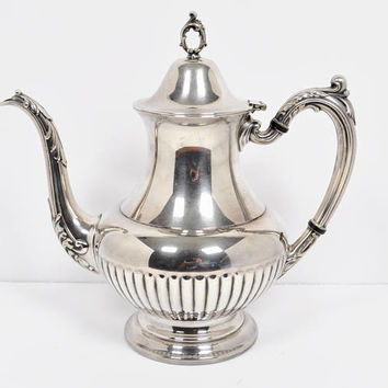 Oneida OL Georgian Style Silverplate Hollowware Coffee Pot