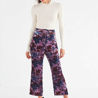 UO Morris High-Rise Velvet Flare Pant | Urban Outfitters
