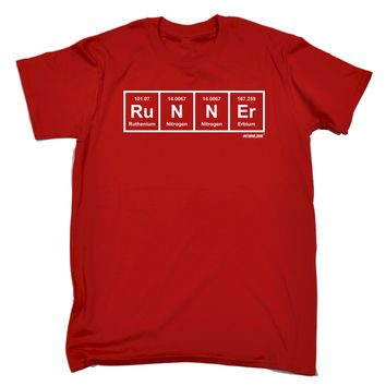 Personal Best Men's Runner Periodic Design Running T-Shirt