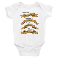 Hogwarts House Traits Gryffindor Slytherin Hufflepuff Ravenclaw Infant short sleeve one-piece
