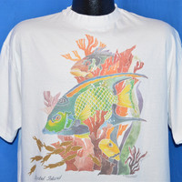 90s Sanibel Island Florida Reef t-shirt Extra Large
