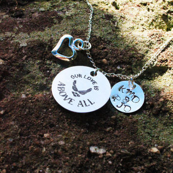 Personalized Air Force Wife or Girlfriend - Personalized Air Force Necklace - Personalized Military Jewelry