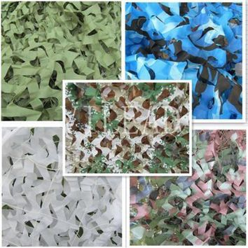 VILEAD 9 Colors 3.5M*4M Camouflage Netting Camo Net For Hunting Sun Shade Hunting Outdoor Tent War Game Party Decoration Camping