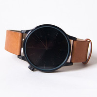 Komono Winston Regal Watch Cognac