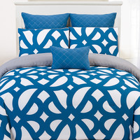 Duck River Uxbridge Comforter Set - Dark Blue/Navy
