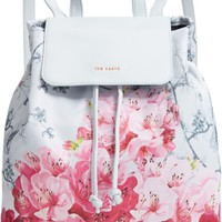 Ted Baker London Belisaa Babylon Print Nylon Backpack | Nordstrom
