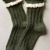 Marble & Lace Crew Socks by Pure + Good