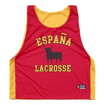 Spain Espana Lacrosse Sublimated Pinnie