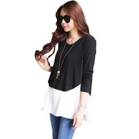 Blouse Pregnant Casual Clothes For Nursing Women Pregnancy Blouses And Tops Office Maternity Clothes Blusas Para Gestantes