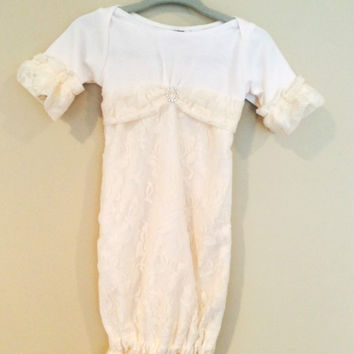 Baby Gown - Vintage Lace
