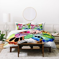 CayenaBlanca Organic Poetry Vol I Duvet Cover
