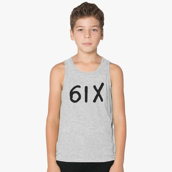 Drake-six Black Kids Tank Top