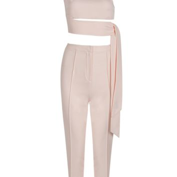 Cinah Blush Pant Set