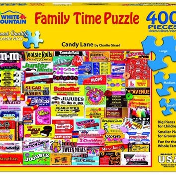 Candy Lane - 400 Piece Family Time Jigsaw Puzzle
